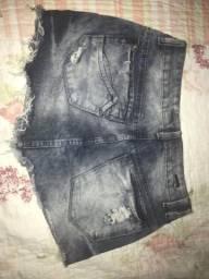 Saia jeans nunca usada
