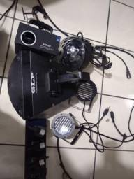 Kit de luz e fumaça para DJ