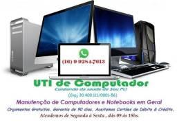 Serviços em Informática (UTI de Computador)