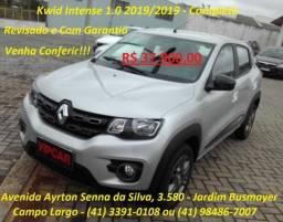 Kwid Intense 1.0 - Completo - 2019