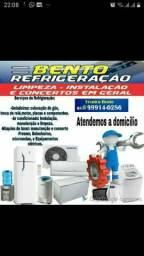 Especializado em instalações & climatização em ar-condicionado de todas as marcas