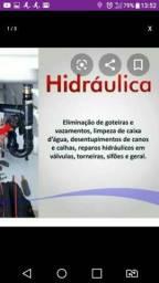 Serviços hidráulicos residenciais