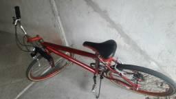 Bike aro 26 7 marchas toda revisada recentemente
