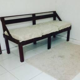 Sofa rustico 3 lugares