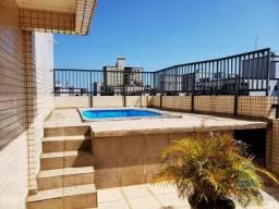 Cobertura para alugar com 3 dormitórios em Guilhermina, Praia grande cod:8887