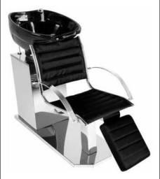 Kit cadeira de lavatório e cadeira de corte