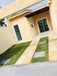 Vendo Casa Plana No Eusébio!!! 92m De Área, com 03 Dormitórios Sendo 02 Suítes