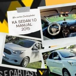 Ford/Ká Sedan 1.0 Se Manual 15/15 Não Consultamos Score - 2015
