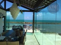 Título do anúncio: Casa com 7 quartos, todos suítes - mobiliada e decorada à beira-mar de Serrambi
