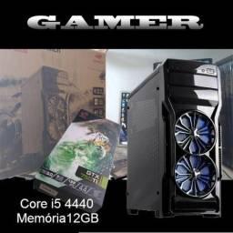 Pc gamer core i5 4440 12GB ram 1tera + SSD corsair xfx gtx 9 Jogos instalados