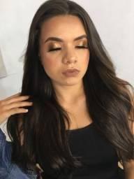 Maquiagem, modelagem, penteado profissional