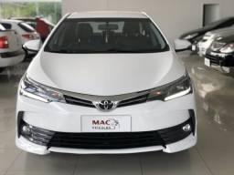 Corolla xrs 2018 com 37 mil km branco pérola - 2018