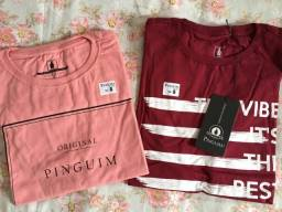 Camisetas Originais Pinguim