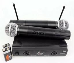 Kit microfone knup profissional