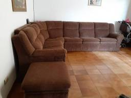 Sofá de Canto Macio e Confortável- Entrego