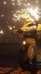 Robô de led animação garantida para sua festa ??