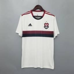 Camisa Flamengo Branca Pronta Entrega Away G
