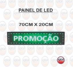 Painel LED 70x20cm