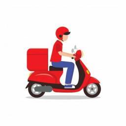 Motoqueiro entregador