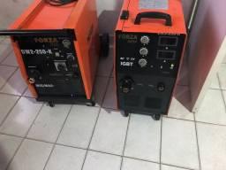 Máquinas MIG MAG monofásicas e trifásicas