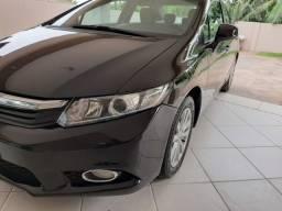 Civic lxs 1.8 automático + piloto automático 2012/2012 impecável