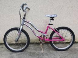 Bicicleta caloi alumínio aro 20