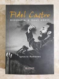 Livro de Fidel Castro em ótimo estado ? biografia a duas vozes