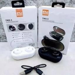 Fone Bluetooth sem fio TWS-5