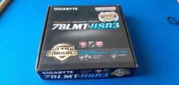 Processador  FX 8350 4.0Ghz + Placa mãe gigabyte 78LMT-USB3