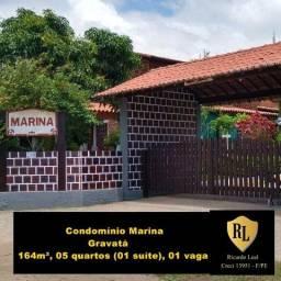 Alugo Casa em Gravatá 164m², 05 quartos (01 suíte)