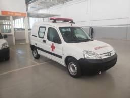 Ambulância Simples Remoção Peugeot Partner 2019 0km