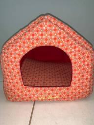 Casinha Cama Pet Acolchoada para gato/cães Luxo