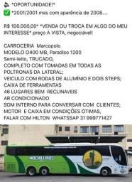 Venda troca ônibus