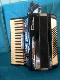 Acordeon Todeschini super 5 selo Verde