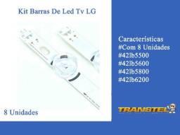 Kit Barramento LED 42LB LG - 8 Unidades