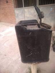 Galão gasolinas antigo 20 litros exército us ZAP *