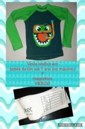 Camisa com proteção solar