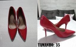 Sapato Verniz Vermelho | Beira Rio