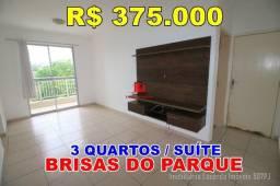 Residencial Brisas do Parque Apto de 81 M² 03 Quartos 01 Suite
