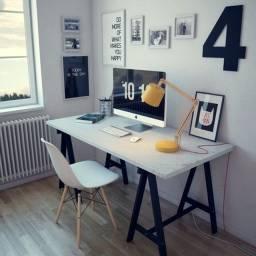 Título do anúncio: Mesa Escrivaninha Cavalete