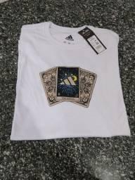 Camiseta Branca Adidas (M) Original