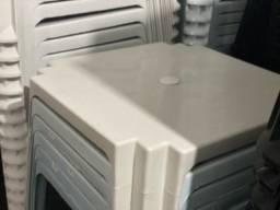 Venha já comprar nova mesa de plástica branca no atacado
