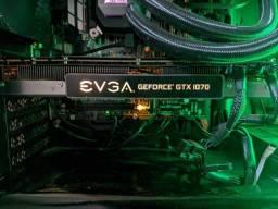 Vendo Placa de video Evga GTX 1070 8gb
