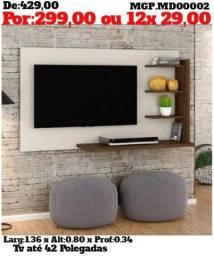 Painel de televisão até 42 Plg-Polegada-Painel de TV- Painel Grande-Sala de Estar