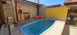 MW- Casa 3 quartos em unamar c piscina Área Gourmet Garagem completa