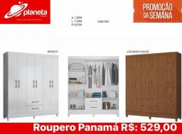 roupeiro Panamá planeta móveis