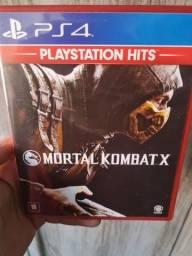 Título do anúncio: Jogo Mortal Kombat X PS4
