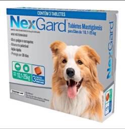 Título do anúncio: NexGard 10.1-25kg Combo com 3 unidades