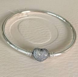 Bracelete Pandora Rígido Always In My Heart