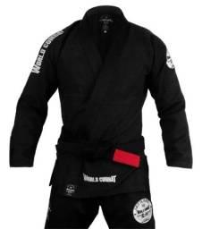Kimono jiu jitsu world combat Premium modelo lets roll